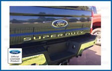 2017 Ford F250 Super Duty Tailgate Letters Decals Stickers Inlay CHROME MIRROR
