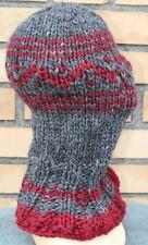 X-THICK Itchy sweater BALACLAVA 100% LOPI WOOL kratzig