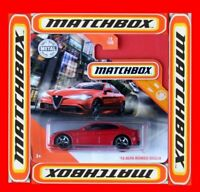 MATCHBOX 2020  ´16 ALFA ROMEO GIULIA    12/100   NEU&OVP