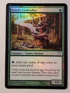 Orochi Leafcaller (FOIL) - Champions of Kamigawa - Magic The Gathering