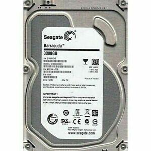 "3TB  Hard Disk Drive-7200 RPM SATA 6 Gb/s 64MB Cache 3.5"" Desktop PC CCTV ..."