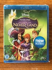 Peter Pan - Return To Never Land (Blu-ray, 2012) Brand New Sealed