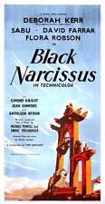 BLACK NARCISSUS Movie POSTER 20x40 UK Deborah Kerr David Farrar Sabu Jean