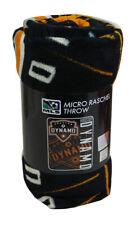 Houston Dynamo MLS 46x60 Micro Raschel Plush Throw (Major League Soccer)