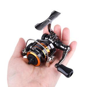 Mini Spinning Fishing Reel Full Metal Small Winter Ice Reel Gear Ratio 4.3:1