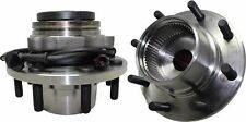 (2) Front Wheel Bearing and Hub Assembly 4WD ABS 13MM THICK FLANGE 515020