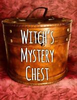 Witch Box Altar Spell Supplies  Wicca Pagan Metaphysical Crystals Mega Box!