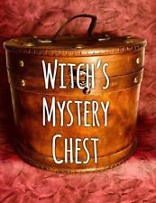 Witch Box Altar Spell Supplies Wicca Pagan Metaphysical Crystals Extra Mega
