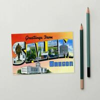Greetings from Salem Oregon Standard Postcard