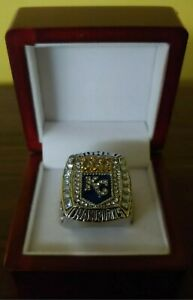 Salvador Perez - 2015 Kansas City Royals World Series Ring With Wood Display Box