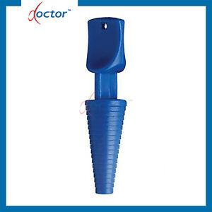 100 Tappi per cateteri vescicali sterili - tappo catetere nelaton foley 2/3 vie