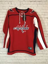 FANATICS Washington Capitals Jersey Sweatshirt Sz L NWT