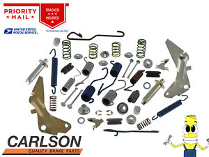 "Complete Front Brake Drum Hardware Kit for Chevy Chevelle 1964-1972 w 9.5"" Drums"