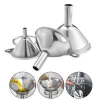 3 teile / satz Edelstahl Multifunktionale Filter Trichter Für Home Küche