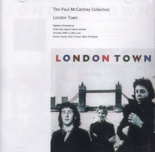 PAUL MCCARTNEY COLLECTION LONDON TOWN WINGS RARE CD Jewel Case+GIFT The Beatles