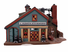 Department 56 J Hudson Stoveworks New England Village Series #56574 Retired