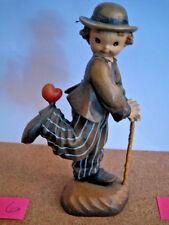 "Anri Juan Ferrandiz ""Stepping Out"" 6"" Wood Carved Nib #651599 Kh"