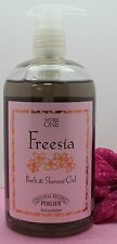 PERLIER NATURE'S ONE FREESIA BATH & SHOWER GEL 16.8 OZ 100%AUTHENTIC LOW PRICE