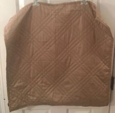 Restoration Hardware Euro Pillow Sham Quilted Taupe/Tan 25� Cotton New
