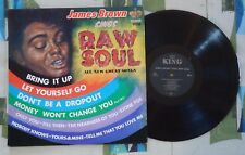 James Brown Sings Raw Soul LP 1967 Funk VG+/VG+