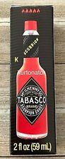 Tabasco Scorpion Sauce 2 fl.oz NEW Exp.09/2021