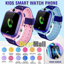 Kids Children Waterproof GPS TRACKER SMART WATCH Anti-lost SOS Call iOS Android