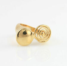 Handmade Statement Yellow Gold Filled Fashion Rings