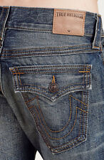 New MADE IN USA True Religion Ricky TRIPLE NEEDLE Jeans size 32 $249 STREET VICE