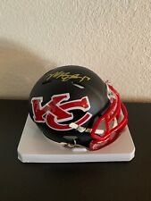 Mecole Hardman Signed Kansas City Chiefs Amp Mini Helmet PSA/DNA