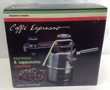 NEW Benjamin & Medwin Stainless Stovetop CAFFE ESPRESSO Cappuccino Coffee Maker