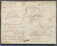 BRIEF(GEVLEKT)GORINCHEM 8 NOVEMB:1775 - ALLEMKERK (ALMKERK),GESCHREVEN 'AF ZH359