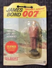 "1965 JAMES BOND 007 Gilbert #6 Goldfinger 3.5"" Action Figure MOC"