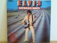 ELVIS  PRESLEY    LP      SEPARATE    WAYS