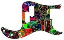 P Bass Precision Pickguard Custom Fender 13 Hole Guitar Pick Guard Pattern 1