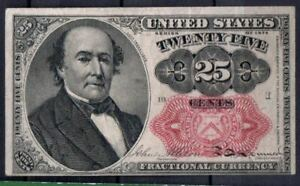 USA Fr 1309 25 Cents 5th Issued 1874-76 VF Rare