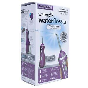 Waterpik Water Flosser, Cordless Advanced, Purple, WP-565CD