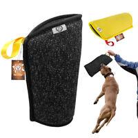 Jute Dog Bite Sleeve Strong Large Dog Training Arm Protection Tug for Schutzhund