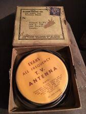 Vintage EVANS 1954  TV Television Antenna - mint