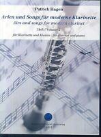 Patrick Hagen - Arien und Songs für Klarinette und Klavier