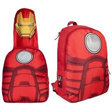 Iron Man - Con Capucha Traje Mochila / Mochila - Nuevo Y Oficial Marvel Comics