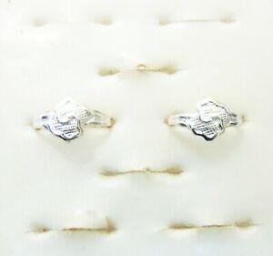 Adjustable 2PCS Ring Indian Designer Bichiya Silver Plated Toe Ring Mother Gift
