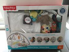 Fisher-Price Spieldecke Krabbeldecke Spielmatte, Perfect Sense Deluxe Gym