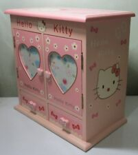 Hello Kitty Mini Jewelry Makeup Box With Drawers & Mirror