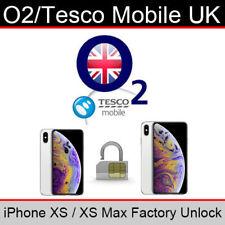 UK O2 Tesco IPHONE 6S 7 8 PLUS X XR XS Max FACTORY UNLOCK SERVICE CLEAN ALL PLAN