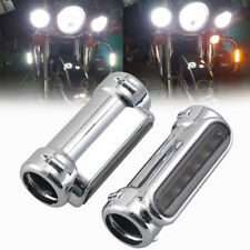 "1.25""/32.5mm Smoke Lens Highway Crash Bar Light for Harley Victory Switchback"