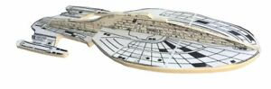 "STAR TREK SHIP PROP VOYAGER 15"" x 6"" FROM EPISODE Screen Used Foam Mock-Up"