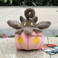 Nintendo Pokemon Center Pumpkaboo Plush Toy Pumpkin Stuffed Animal Doll Small 6""