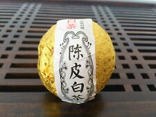 White Tea Stuffed Tangerine Orange Fuding Chenpi Bai Cha Aged Shou Mei