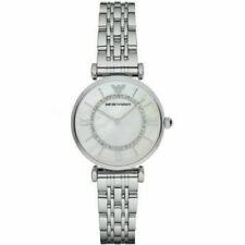 Emporio Armani Gianni T-Bar Armband Uhr für Damen - Silber (AR1908)