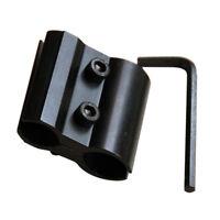 1 inch Shotgun Barrel Scope Mount Base Clamp for Flashlight/Torch/Laser/Sight